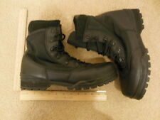 Corcoran Safety Work Firefighter Mens Black Leather Used Boots Size 12 M 12M #60