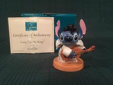 "WDCC Lilo and Stitch - Stitch ""Long Live the King"" New in Box"