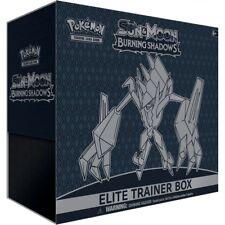 No Boosters Pokémon TCG Sun & Moon Burning Shadows Elite Trading Card Trainer