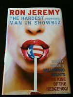 SIGNED Ron Jeremy The Hardest (Working) Man In Showbiz Personalized 1st Edition