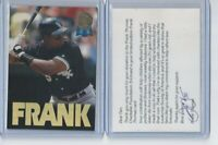 1993 Leaf RARE GOLD Charitable - Frank Thomas Chicago White Sox HOF - LOOK!