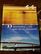 Applied calculus for the managerial life and social sciences 9th edition