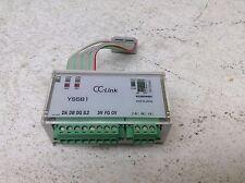 Koganei YS5B1 CC-Link Remote I/O Block