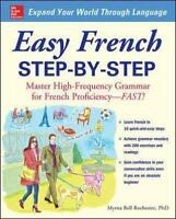NEW Easy French Step-by-step By Myrna Bell Rochester Paperback Free Shipping