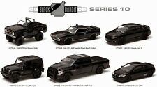 GREENLIGHT 1:64 BLACK BANDIT SERIES 10 ASSORTMENT Diecast Car 6 Pieces Set 27750