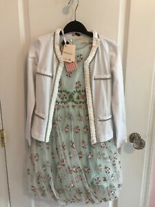 NWT Monnalisa outfit jacket 10 Italy  $$$$ jacket only