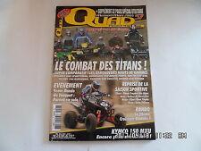 QUAD PASSION MAGAZINE N°57 03/2005 POLARIS 800 SPORTSMAN KAWASAKI 750 BRUTE  H43