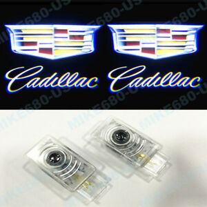 Led Door Lights Projector Shadow Laser Emblem For CADILLAC CTS ATS SRX XT5/6 XTS