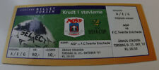 ticket for collector EC Aarhus GF Twente Enschede 1997 Denmark Holland