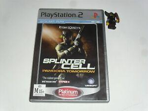 Tom Clancy's Splinter Cell Pandora Tomorrow - Sony PS2 - PAL format - Complete