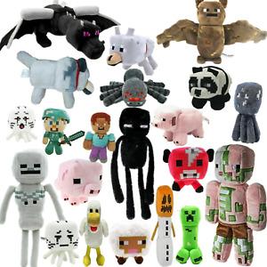 New Minecraft Plush Kids Gift Children Stuffed Animal Soft Plushies Toy Doll UK