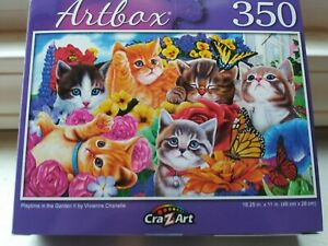 New 350 Piece Jigsaw Puzzle (Playtime in the Garden)