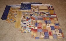 Bo Bunny Double-Sided Paper Lot of Fourteen ~ Patriotic/Anthem.