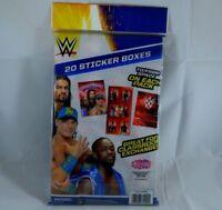 20 Count StickerTreats WWE Wrestlers Valentine Sticker Packs Valentines Day