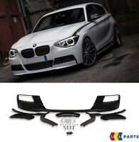 BMW NEW GENUINE F20 F21 M PERFORMANCE FRONT BUMPER SPOILER KIT WITH GRILLES