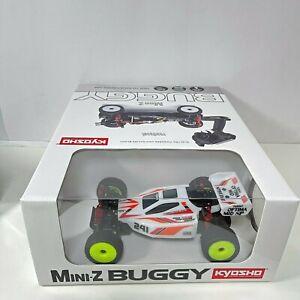 Kyosho Mini-Z Buggy MB-010 TURBO OPTIMA Mid Special White Ver. Readyset 32092W
