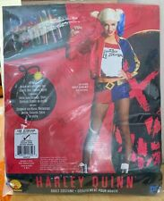 QUALITY DC HARLEY QUINN COSTUME SUICIDE SQUAD FANCY DRESS RRP £35 LARGE (14-16)