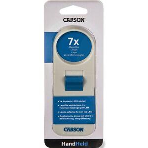 "Carson (Formerly UltraOptix) Pocket LED Lighted Magnifier - 7X Round 1.5"" Lens"