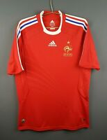 5/5 France soccer jersey medium 2008 2009 away shirt football Adidas ig93