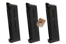 ARMY 26rds Airsoft Toy Gas Magazine For ARMY R27 (MEU)/ R28 R29 (M1911) GBB 3PCS
