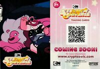 2019 WONDERCON EXCLUSIVE STEVEN UNIVERSE PROMO CARD P4 CRYPTOZOIC