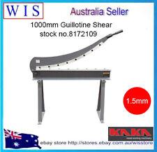 1000mm Manual Guillotine Shear Sheet Metal Fabrication Plate Cutting Cutter