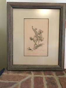 """BARRY EUREN """"FORWARD"""" LIMITED EDITION HAND SIGNED ETCHING"""