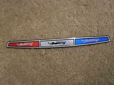 New Repro. 1967 Galaxie 500 Trunk Ornament Emblem Foil Insert XL LTD