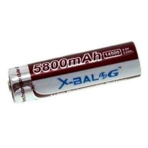 1 Batteria Ricaricabile stilo Litio 3.7V 2200 mAh BL-14500