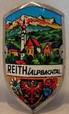 Reith im Alpbachtal used badge mount stocknagel hiking medallion G2654