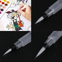 4PCS WATER BRUSH INK PEN WATER COLOR/CALLIGRAPHY/PAINT DRAWING TOOL PENS SET