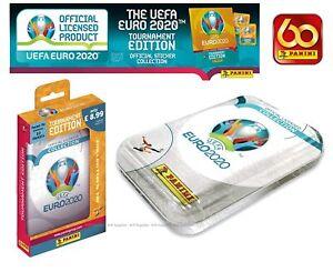 Panini Euro 2020 Tournament Edition Stickers Pocket Tin