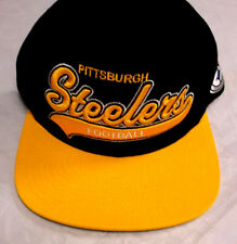 Pittsburgh Steelers Mitchell & Ness Snapback Adjustable Fit Cap Hat NEW