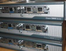 CISCO 2801-VSEC/K9 Security Plus Router Voice Bundle HWIC-4ESW PVDM VWIC MFT 1YR