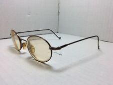 EZ Lite Eyeglasses FRAMES Brown Round Designer 40[]18 140