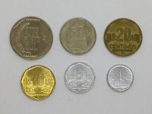 Peru Set of 6 (2006-2017)