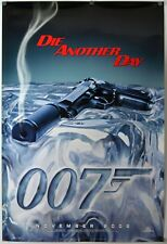 Die Another Day - original movie poster  27x40 Advance - James Bond