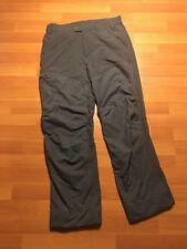 Patagonia Men's Gray Nylon Utility Hiking Outdoor Pants size Medium M Cargo