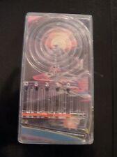 1976 vintage handheld pinball skeeball game toy Blue-boy space rocketship