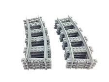 Lego train curved train track 8x R56 SET HALF CIRCLE custom 3d printed!