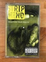 STRIP MIND RARE Whats In Your Mouth CASSETTE Sully Erna GODSMACK Collectors Item
