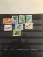 Collection Of Foreign  French Cols Ghana Mint Secretary Bird Set 1964 F-81
