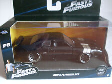 Fast & Furious Dom`s Plymouth GTX, Jada Car Model 1:3 2
