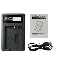 Camera USB Battery Charger for Canon LP-E10 EOS 1100D 1200D 1300D Rebel T3 T 5