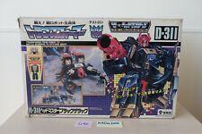 G1 Transformers Black Zarak D-311 MIB Complete RARE Scorponok Headmaster