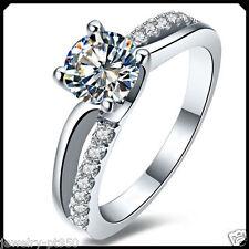 1.00CT Diamond Solid Platinum PT950 Engagement Wedding Ring Solitare White Gold