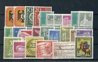 Berlin Jahrgang 1956 , postfrisch ,  Auswahl aus Michel Nr. 135 - 158