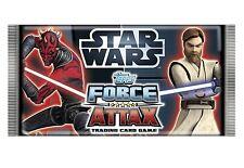 >> Star Wars Topps Force Attax Trading Card Game 15 Stück = 75 karten >>