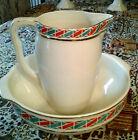 Art Deco Washbasin Set ca1920s-1930s Made in Belgium