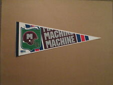 World League Montreal Machine Vintage Defunct Pennant